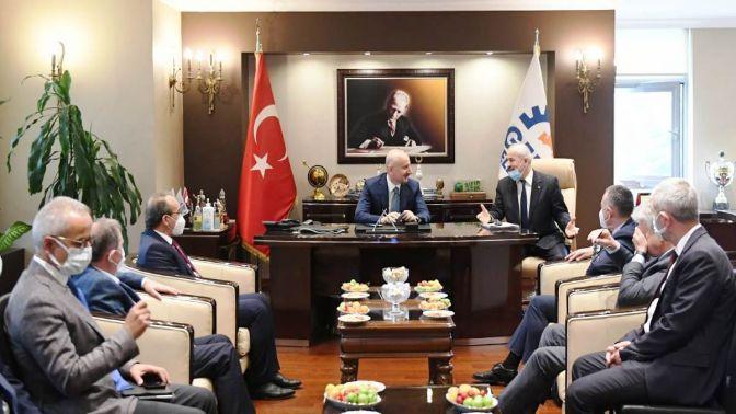 Ulaştırma Bakanı Karaismailoğlu Gebzede