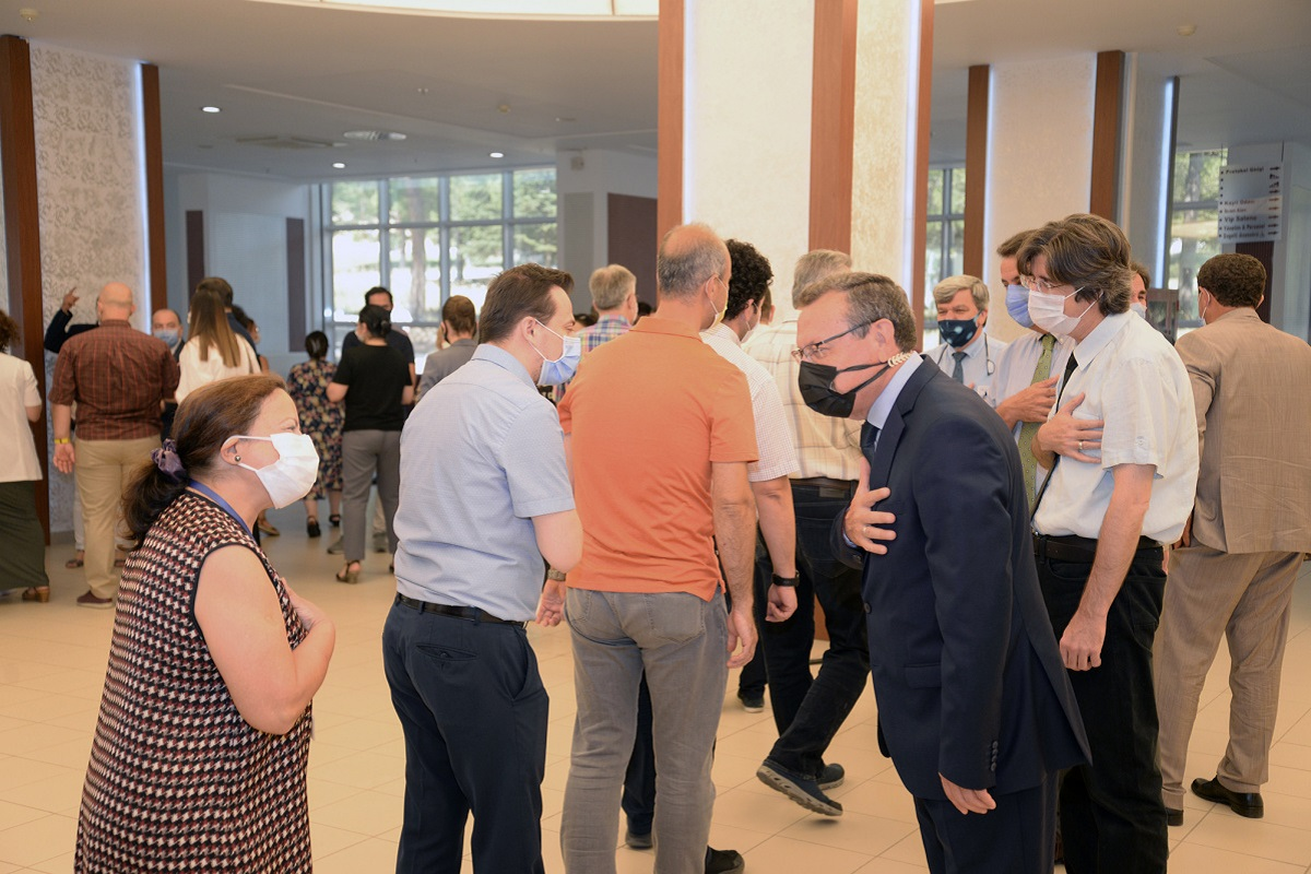 Uludağ Üniversitesi ailesi bayramlaştı